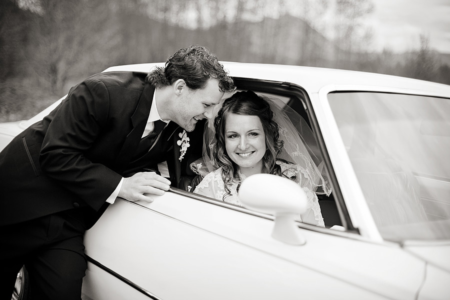 Chilliwack Wedding Car Photo