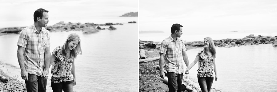 Ocean Vancouver Engagement Photos