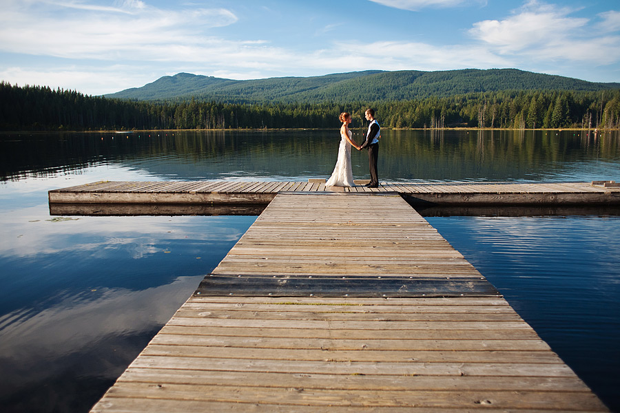 BC Lake Wedding Photography