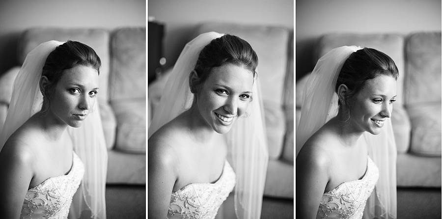 Bride Closeup Getting Ready