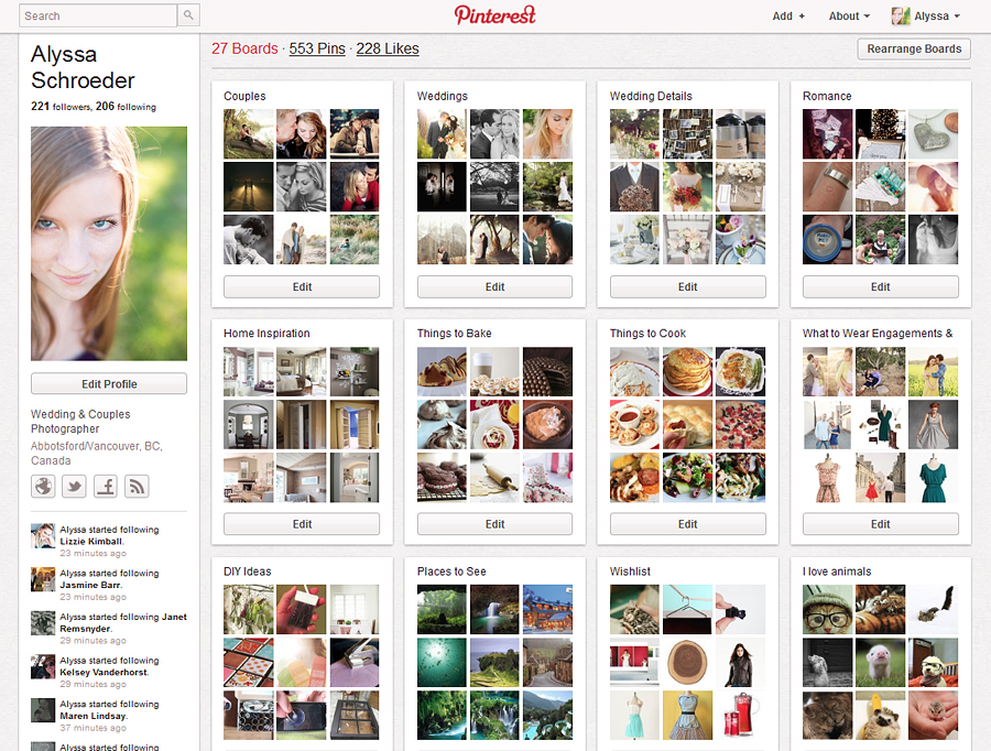 19 Ways I use Pinterest