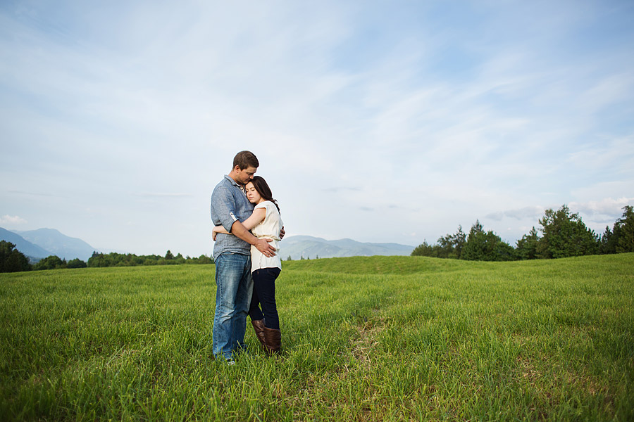 mountain field engagement