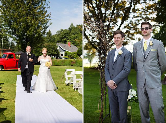 Outdoor Surrey Wedding
