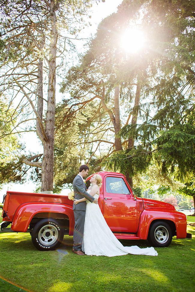 Wedding Transportation 50's Hot Rod Truck