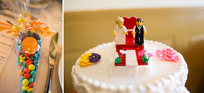 Lego Wedding Cake Topper