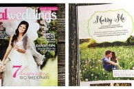 Featured in Real Weddings Magazine