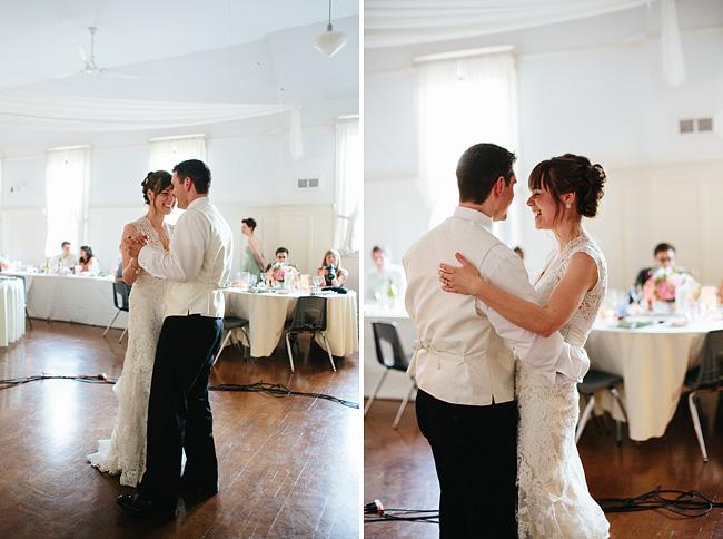 fort langley community hall wedding