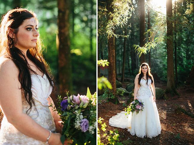 Ethereal Elvish Bride inForest
