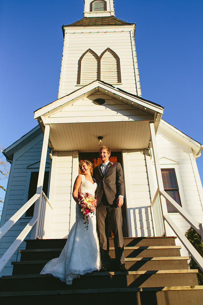 Milner Chapel Wedding Ceremony