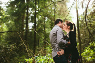 Devon & Darin: Stanley Park Engagement Photos