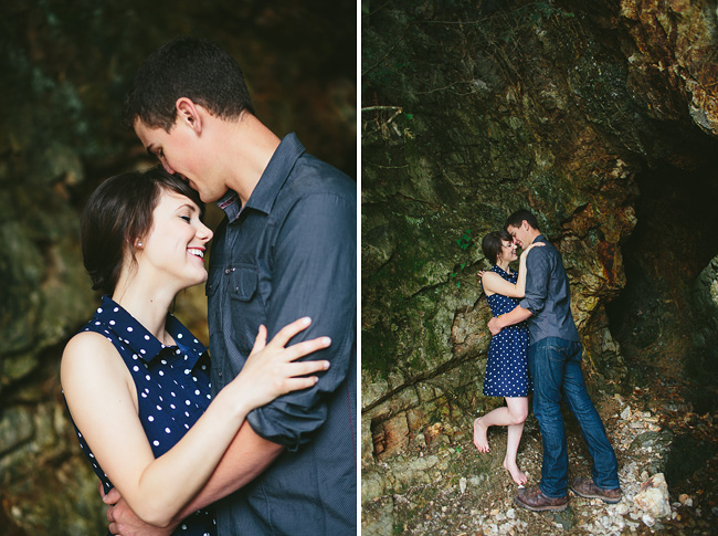 engagement in a cave