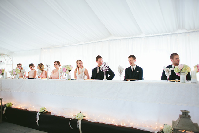 abbotsford tent wedding reception