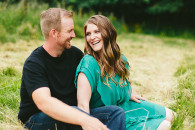 Amber & Trevor: Country Engagement Photos
