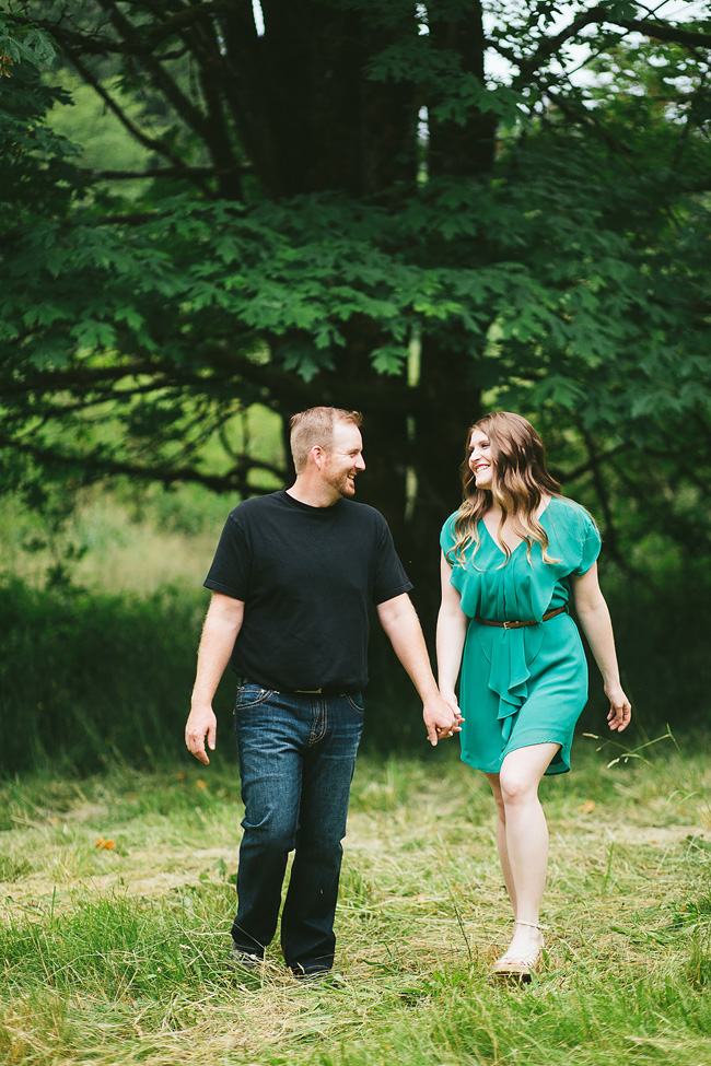 Langley Engagement session with dress