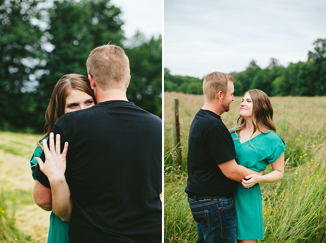 Langley Farm Engagement Photos