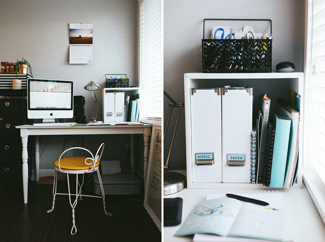 graphic designer home office
