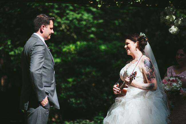 Ukulele for Wedding Vows