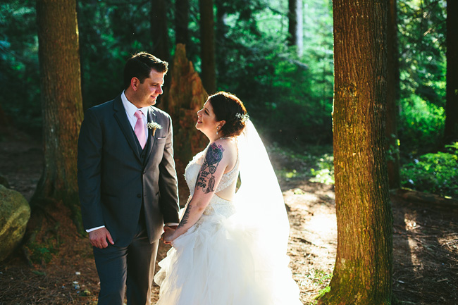 BC Forest Wedding Photos