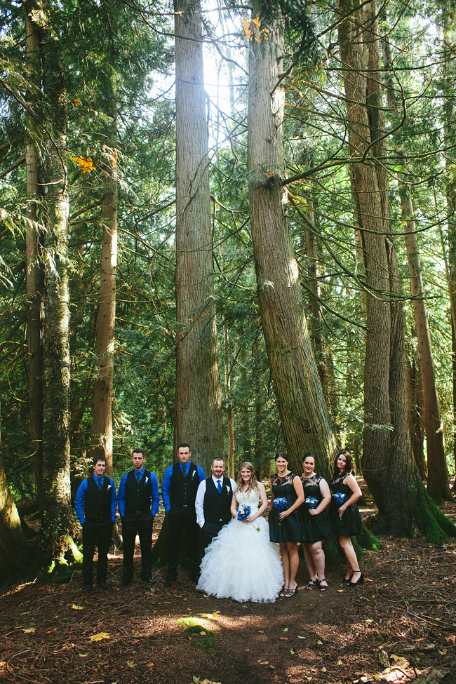Forest Bridal Party BC