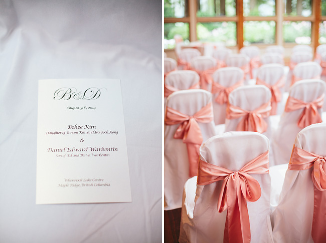 Indoor Wedding Whonnock Lake