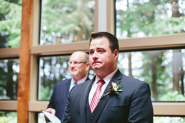 Emotional Groom for Ceremony