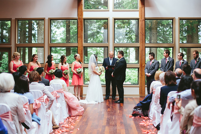 Indoor Whonnock Lake Ceremony