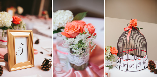 Coral Wedding Details
