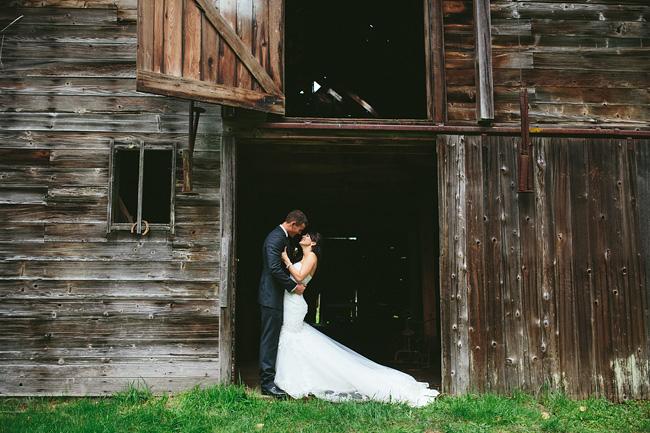 Country wedding photos in British Columbia