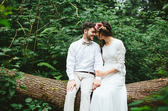 Rustic Bohemian Inspired Wedding