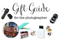 Gift Guide for the Photographer
