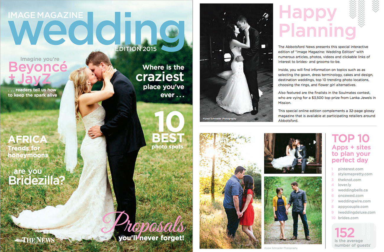 Abby News Wedding Magazine Feature