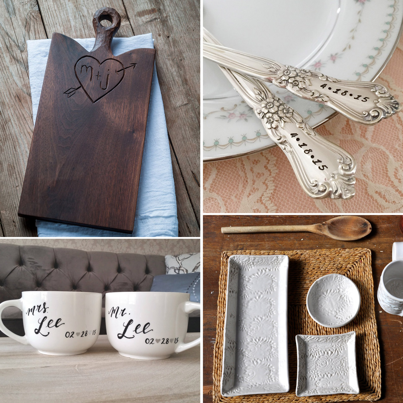Wedding GIft Ideas from Etsy Canada