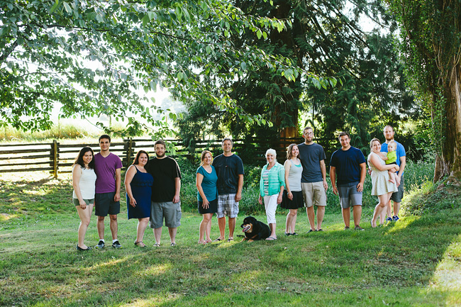 Extended Abbotsford Family Portrait