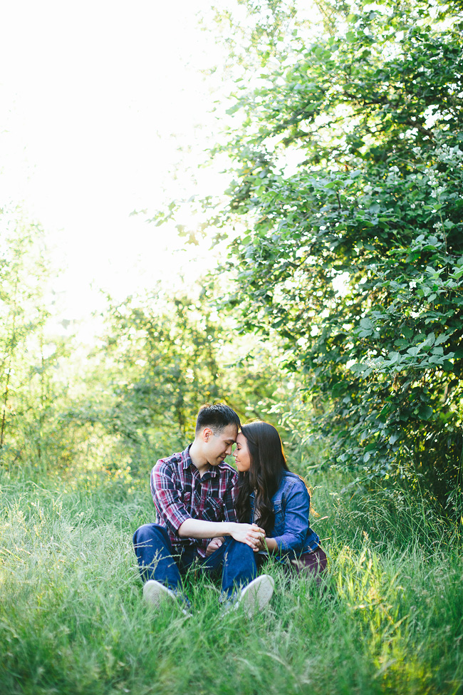 Vancouver Engagement Photos at Queen Elizabeth