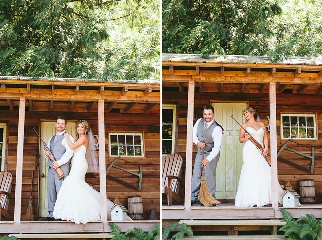 Abbotsford Rustic Cabin Wedding Photos