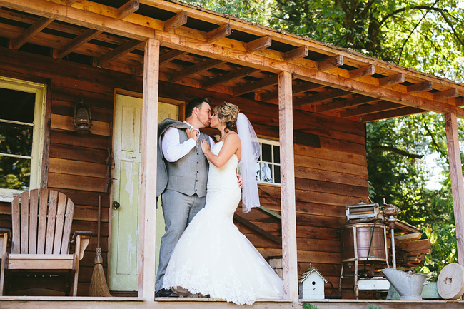 Rustic Abbotsford Cabin Wedding
