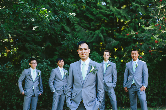 Groom at Deer Lake