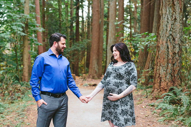 Devon & Darin: Redwood Park Maternity Session