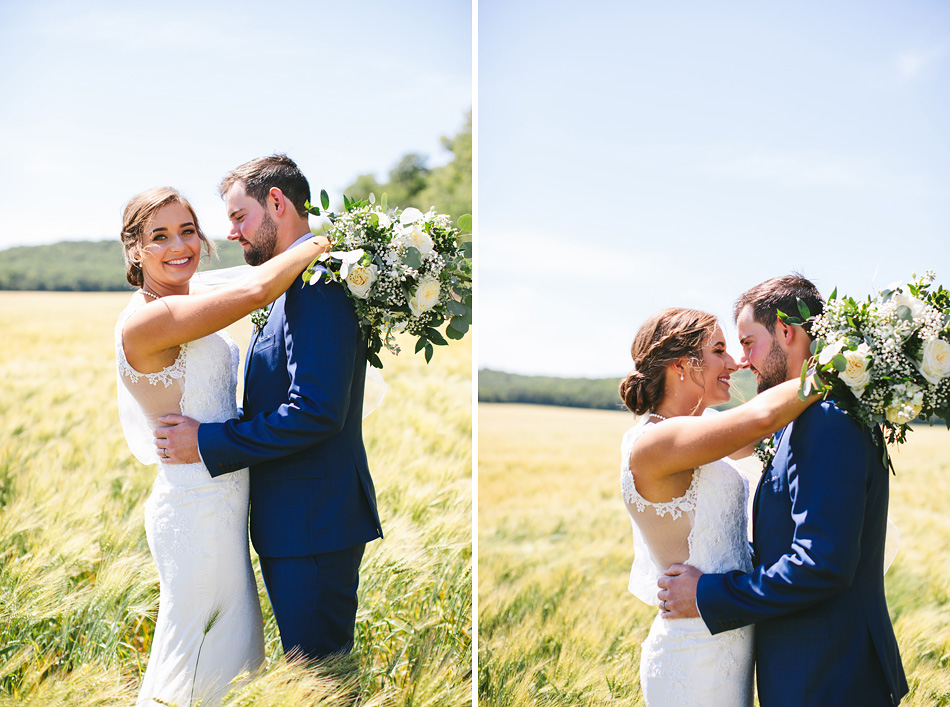 Manitoba Wheat Field Wedding