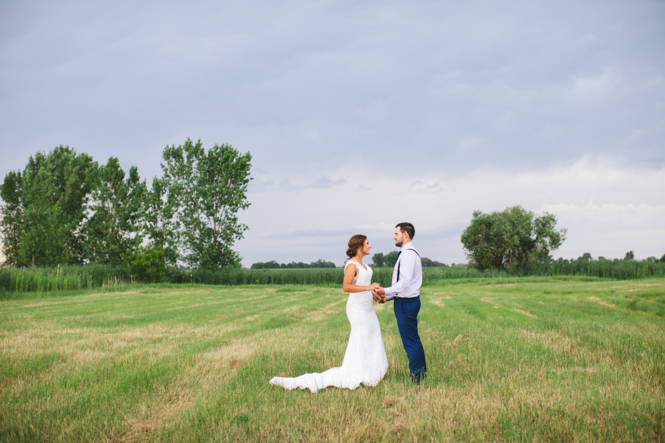 Stormy Manitoba Wedding