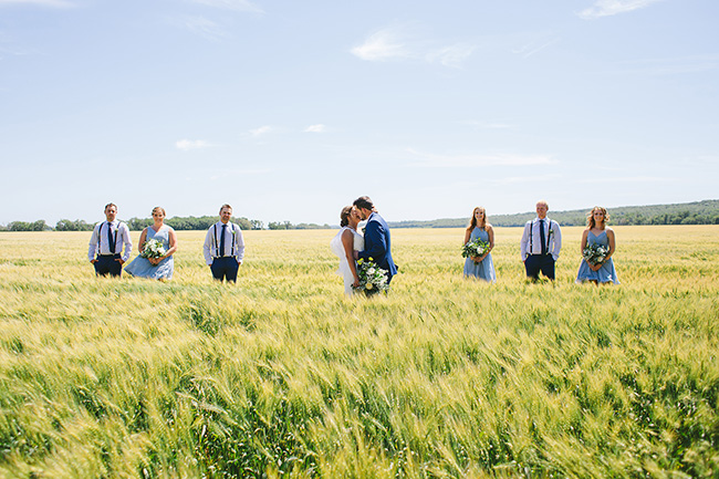 Jenilee & Darwyn: Manitoba Farm Wedding