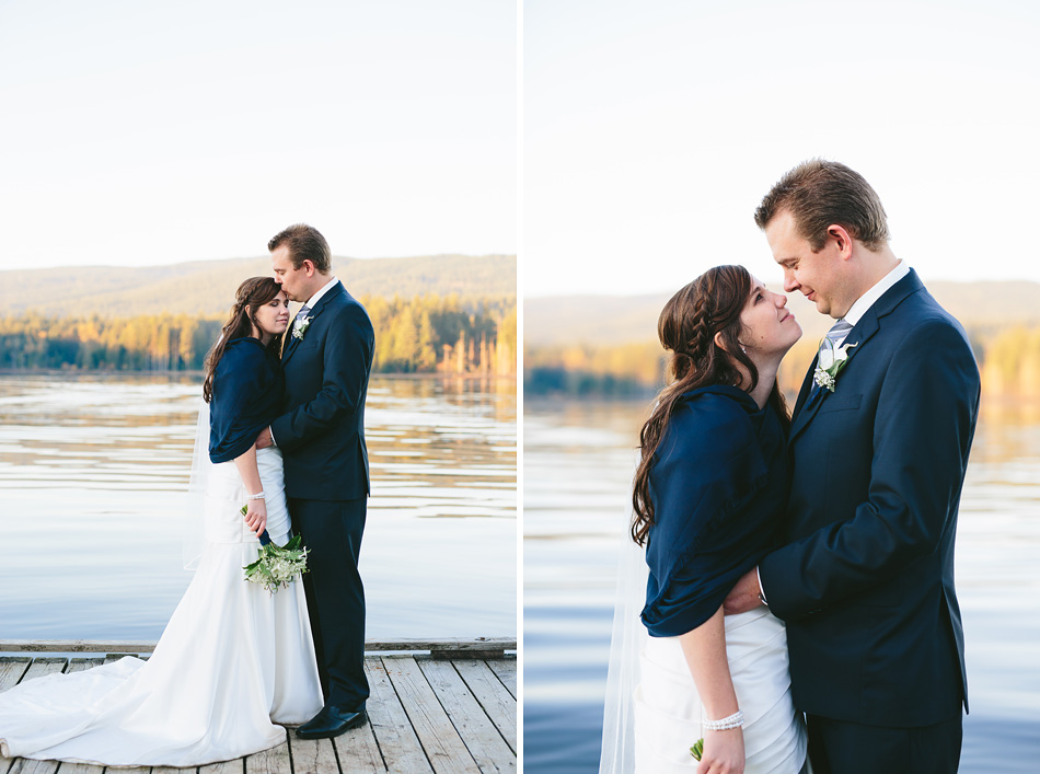Dock Wedding Photos