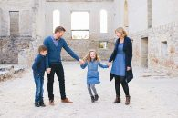 Family Portraits at St. Norbert Ruins