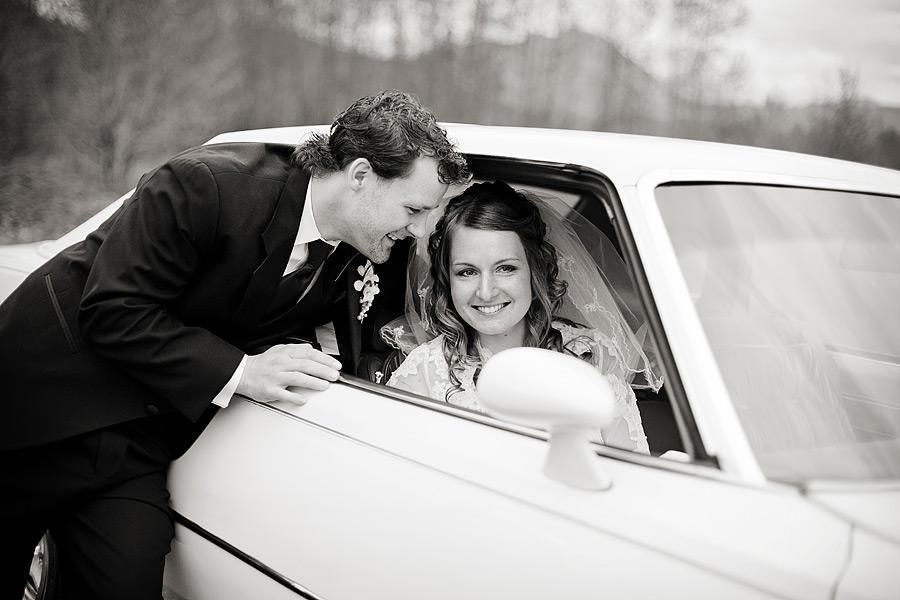 Chilliwack Wedding Car Photo
