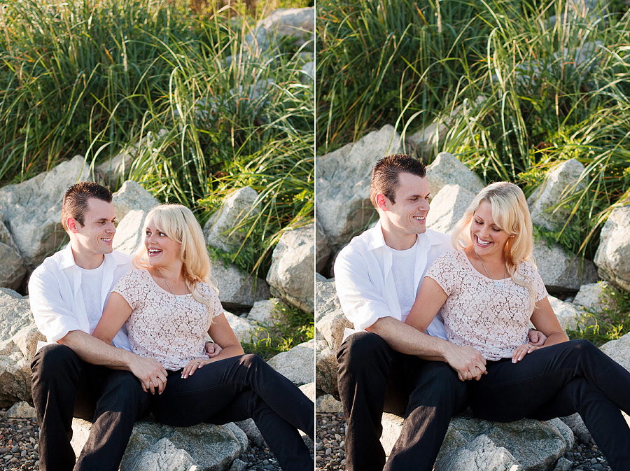 White Rock Engagement Photography Caylee + Mike