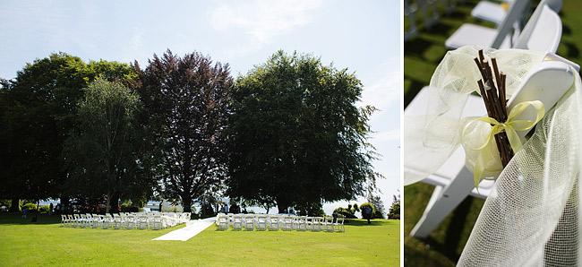 Outdoor Surrey Wedding Ceremony