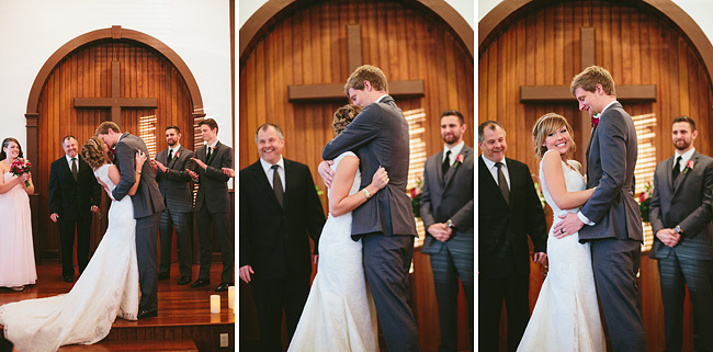 Milner Chapel Wedding at Sunset