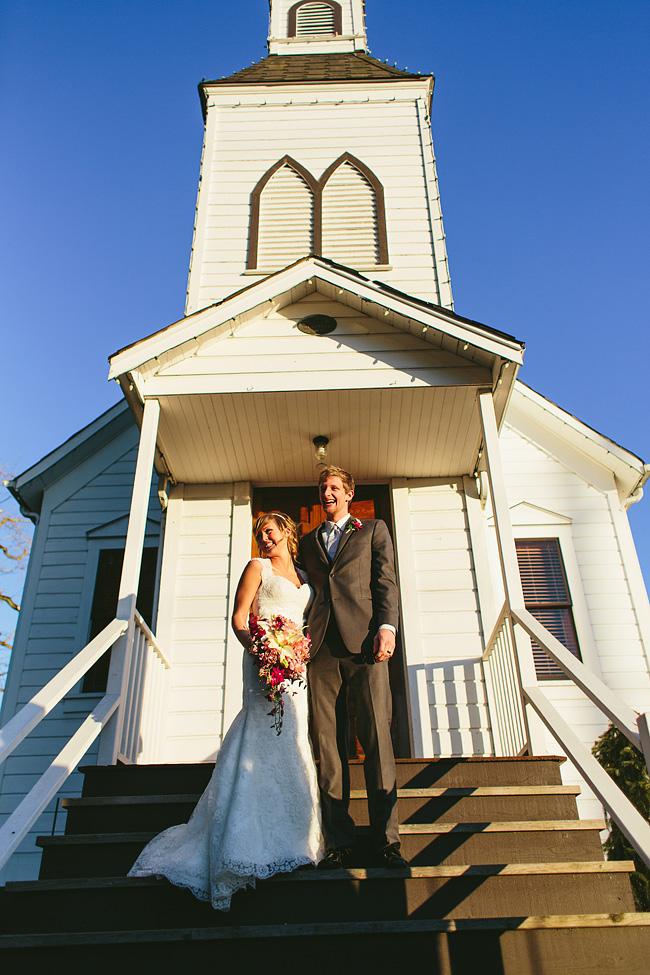 Milner Chapel Wedding Ceremony
