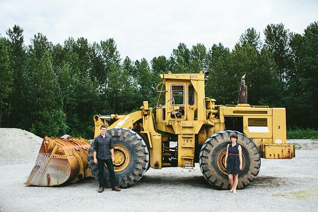 shovel truck engagement