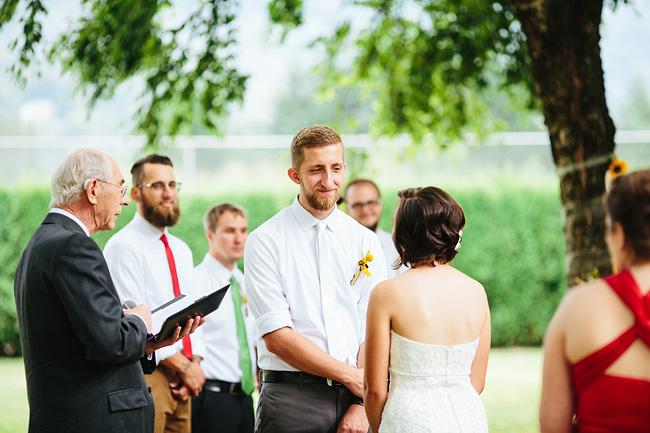 outdoor ceremony yarrow